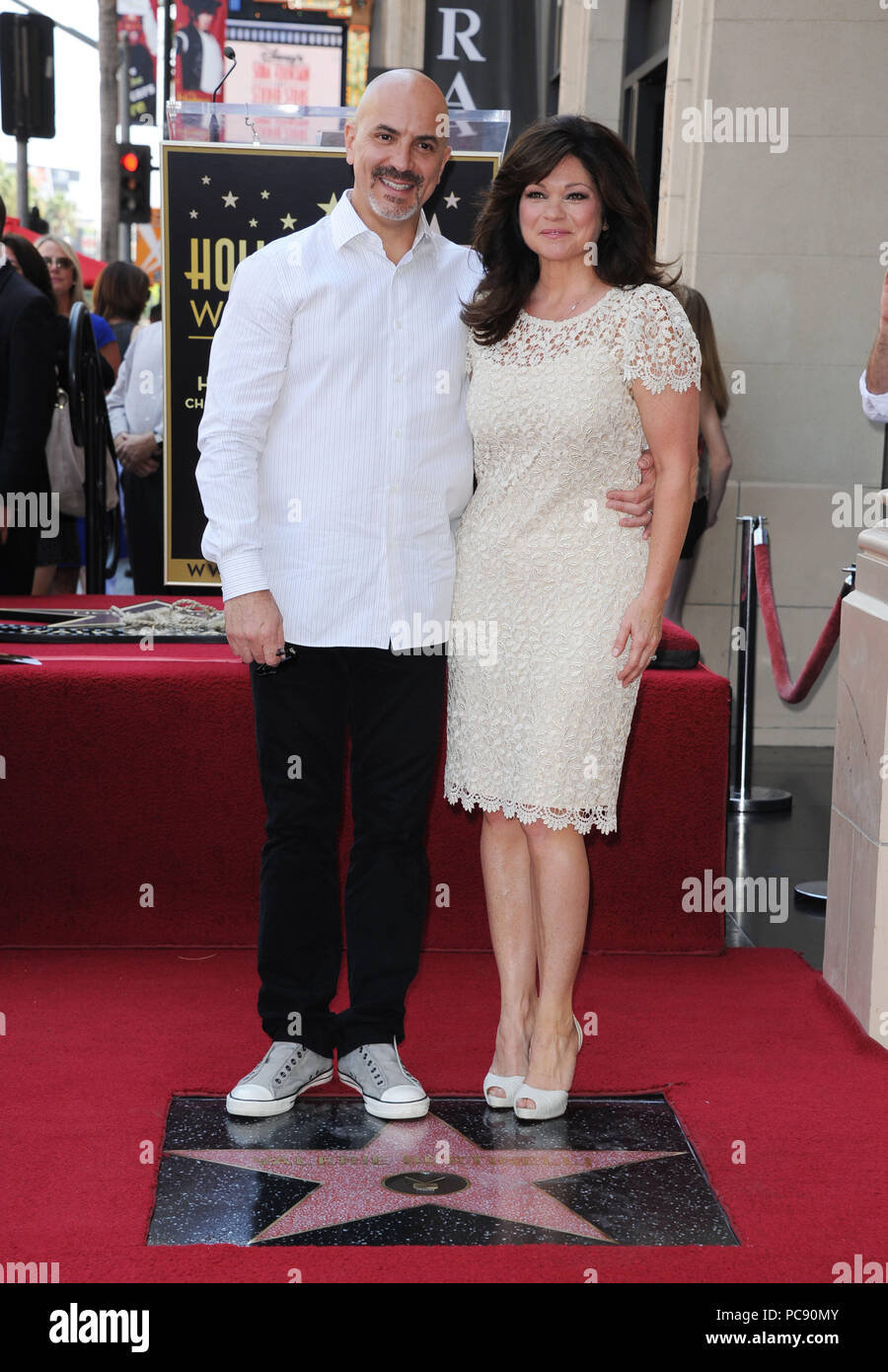 Valerie Bertinelli And Husband Tom Vitale High Resolution Stock Photography And Images Alamy
