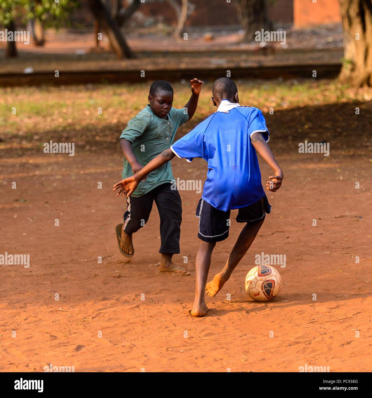 Bare football