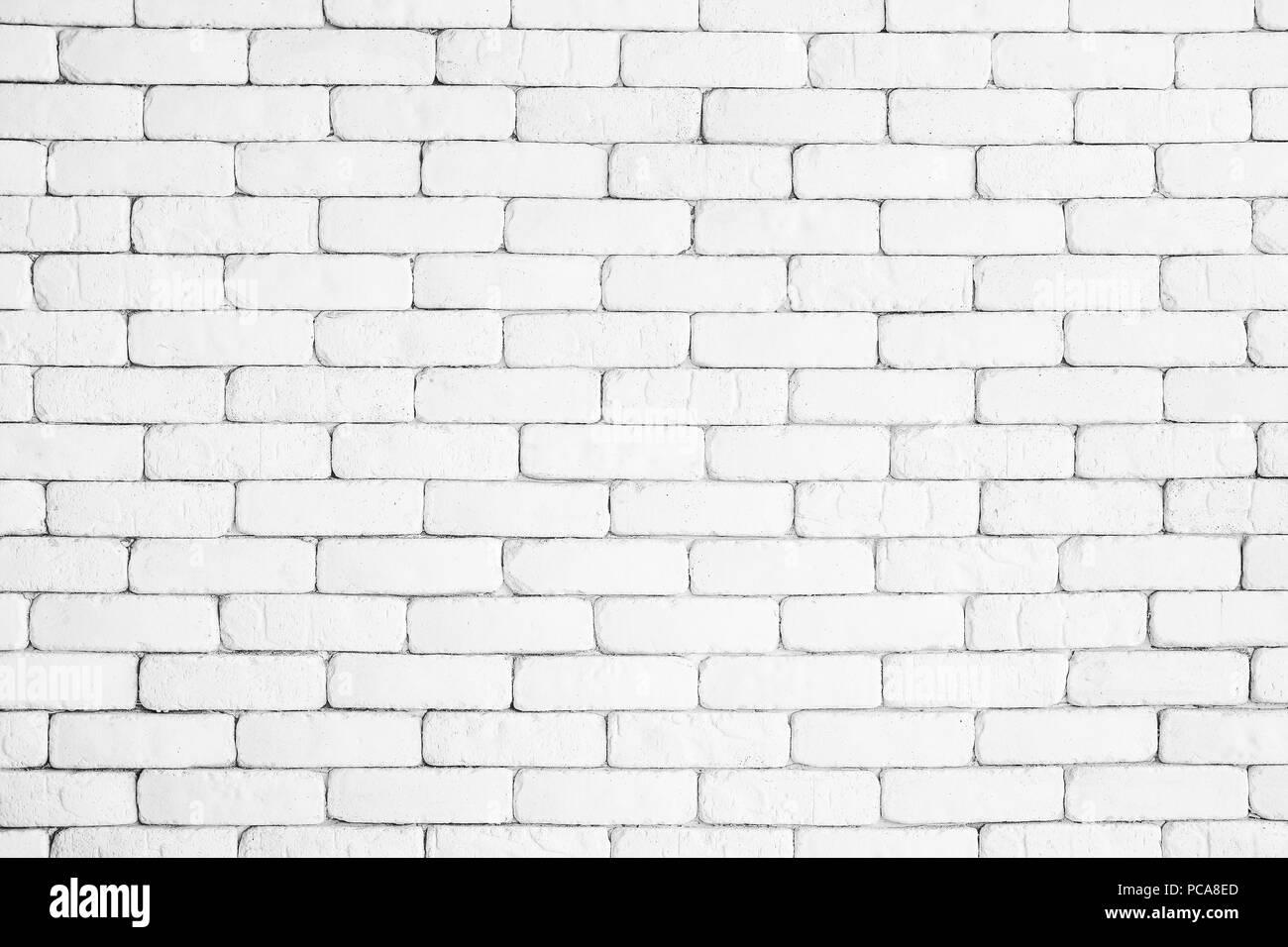 White Brick Wall Texture Design Empty White Brick
