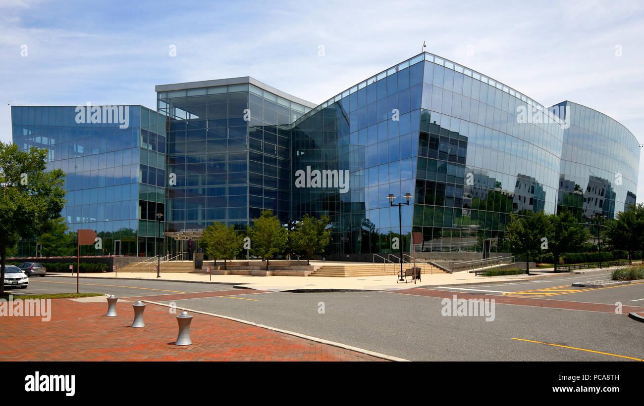 Corporate Headquarters of GlaxoSmithKline USA inside the Philadelphia Navy Yard Stock Photo