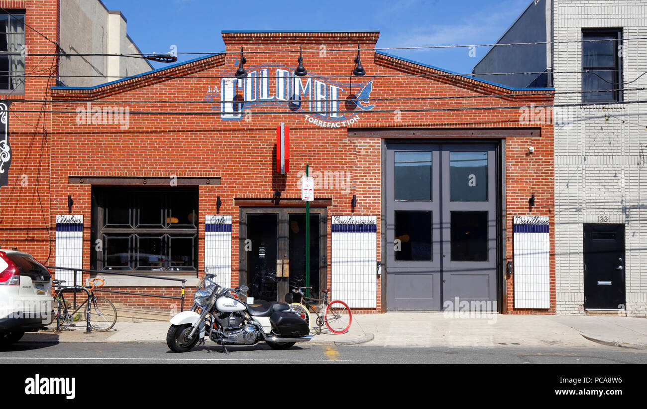La Colombe Coffee Roasters in Fishtown, 1335 Frankford Ave, Philadelphia, PA - Stock Image