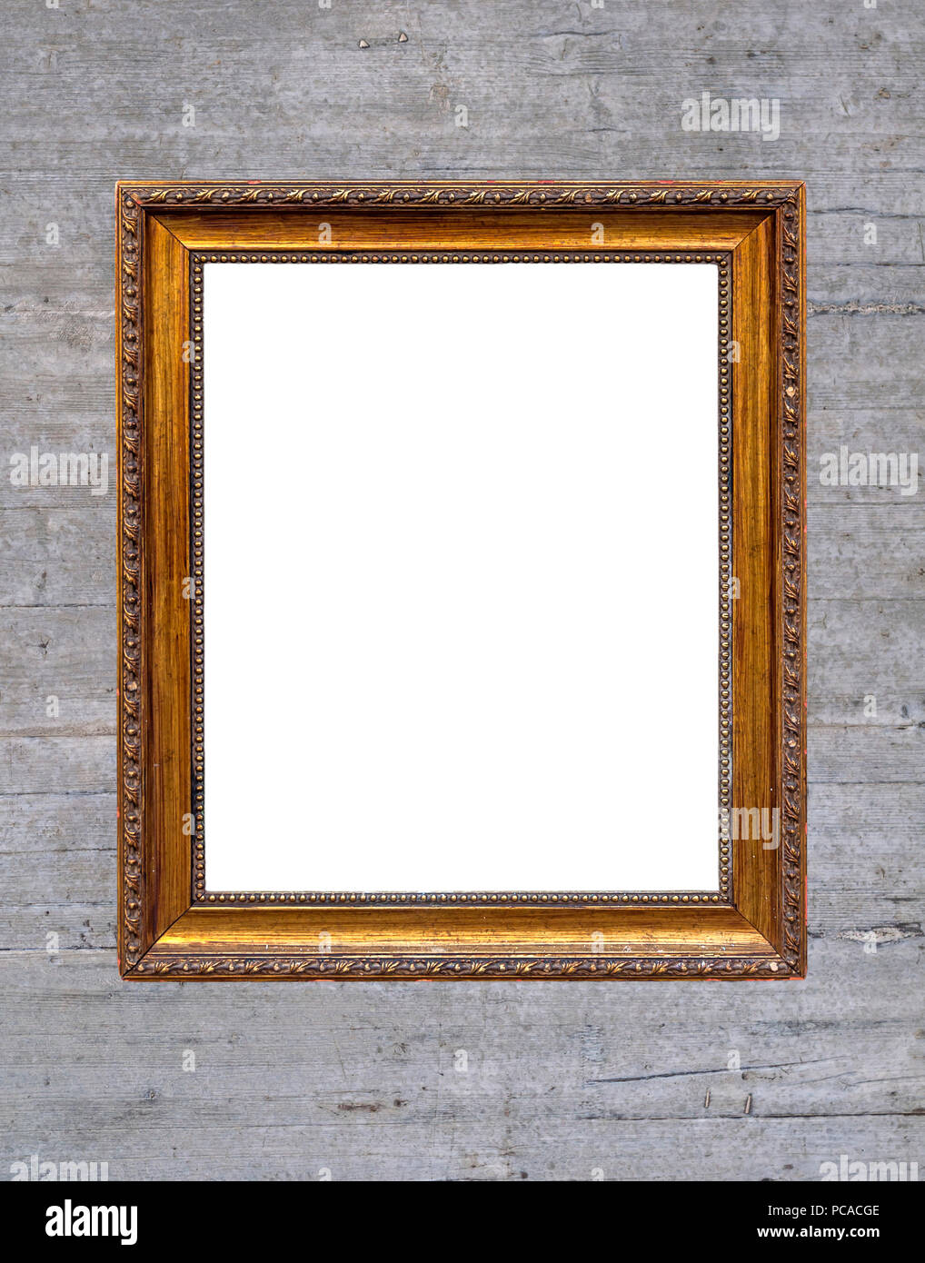 Vintage green chalkboard with wooden frame Stock Photo: 214129678 ...