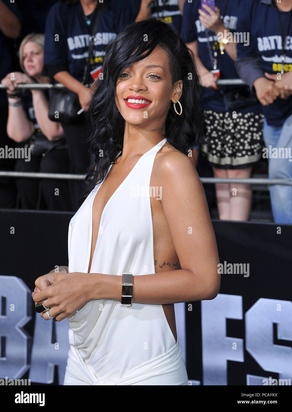 Rihanna At Battleship Premiere At The Nokia Theatre In Los Angeles A Rihanna 01 Red Carpet Event Vertical Usa Film Industry Celebrities Photography Bestof Arts Culture And Entertainment Topix Celebrities Fashion