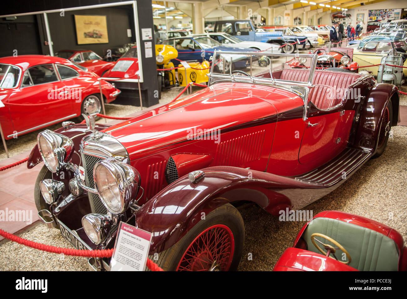 Haynes International Motor Museum At Sparkford Yeovil In Somerset