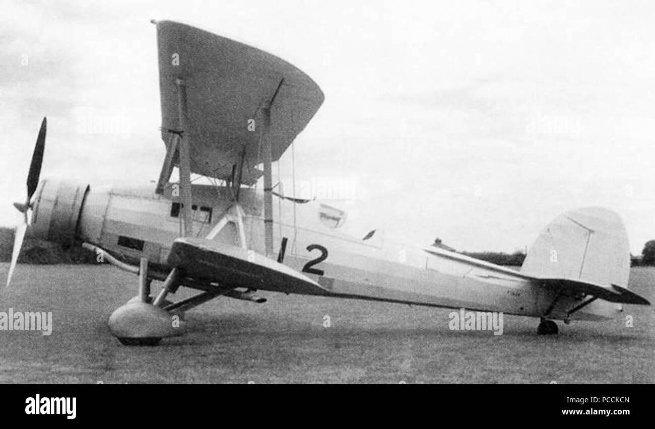 Fairey G1-34 Mk.II - Stock Image