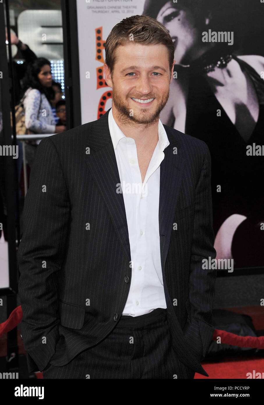 Benjamin McKenzie  at the 40th Anniversary Restoration of CABARET at the Opening Night of the TCM Classic Film Festival.Benjamin McKenzie _20 ------------- Red Carpet Event, Vertical, USA, Film Industry, Celebrities,  Photography, Bestof, Arts Culture and Entertainment, Topix Celebrities fashion /  Vertical, Best of, Event in Hollywood Life - California,  Red Carpet and backstage, USA, Film Industry, Celebrities,  movie celebrities, TV celebrities, Music celebrities, Photography, Bestof, Arts Culture and Entertainment,  Topix, Three Quarters, vertical, one person,, from the year , 2012, inquir - Stock Image