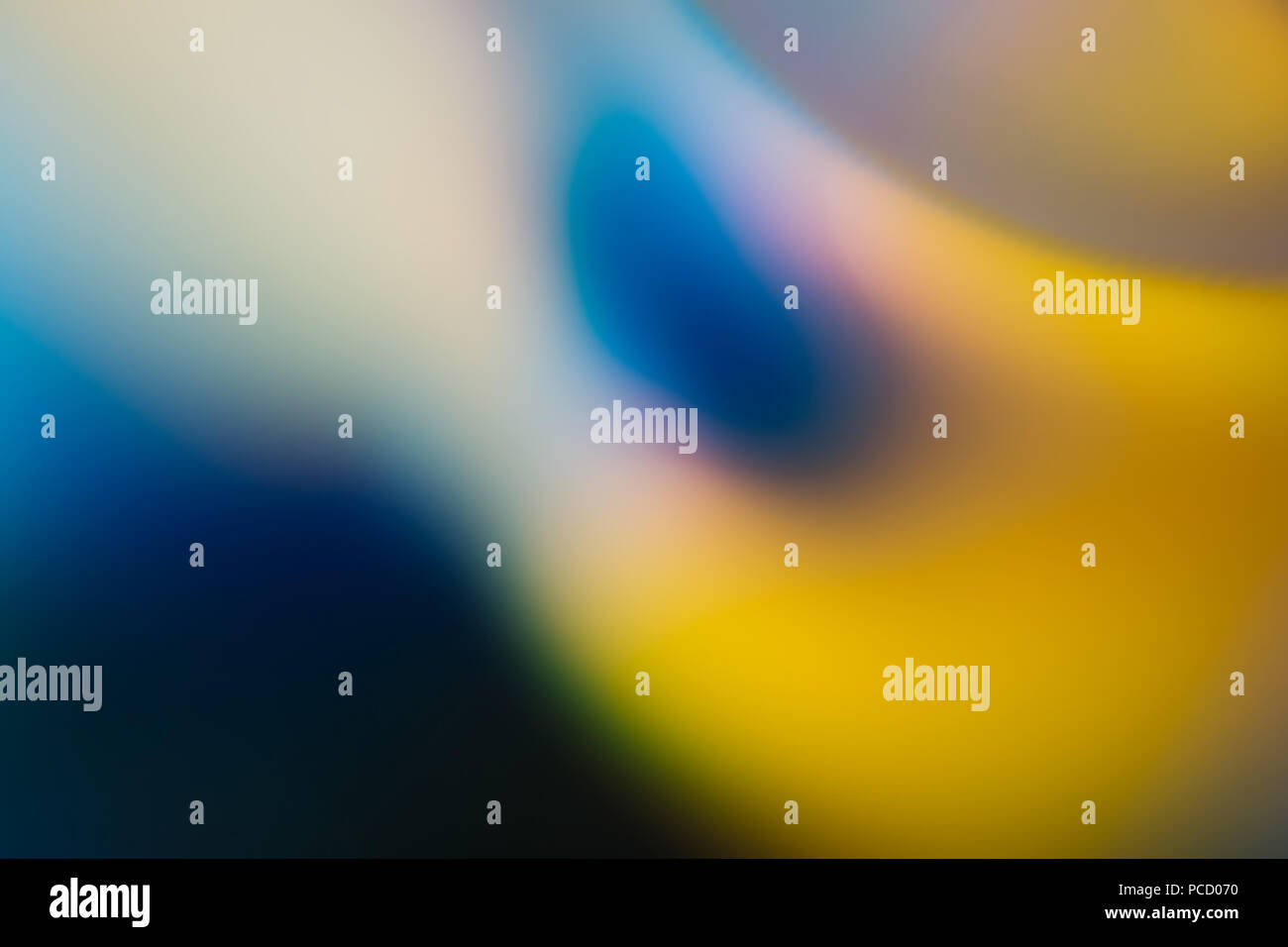 Abstract Photography Blurred Muted Colours - Stock Image