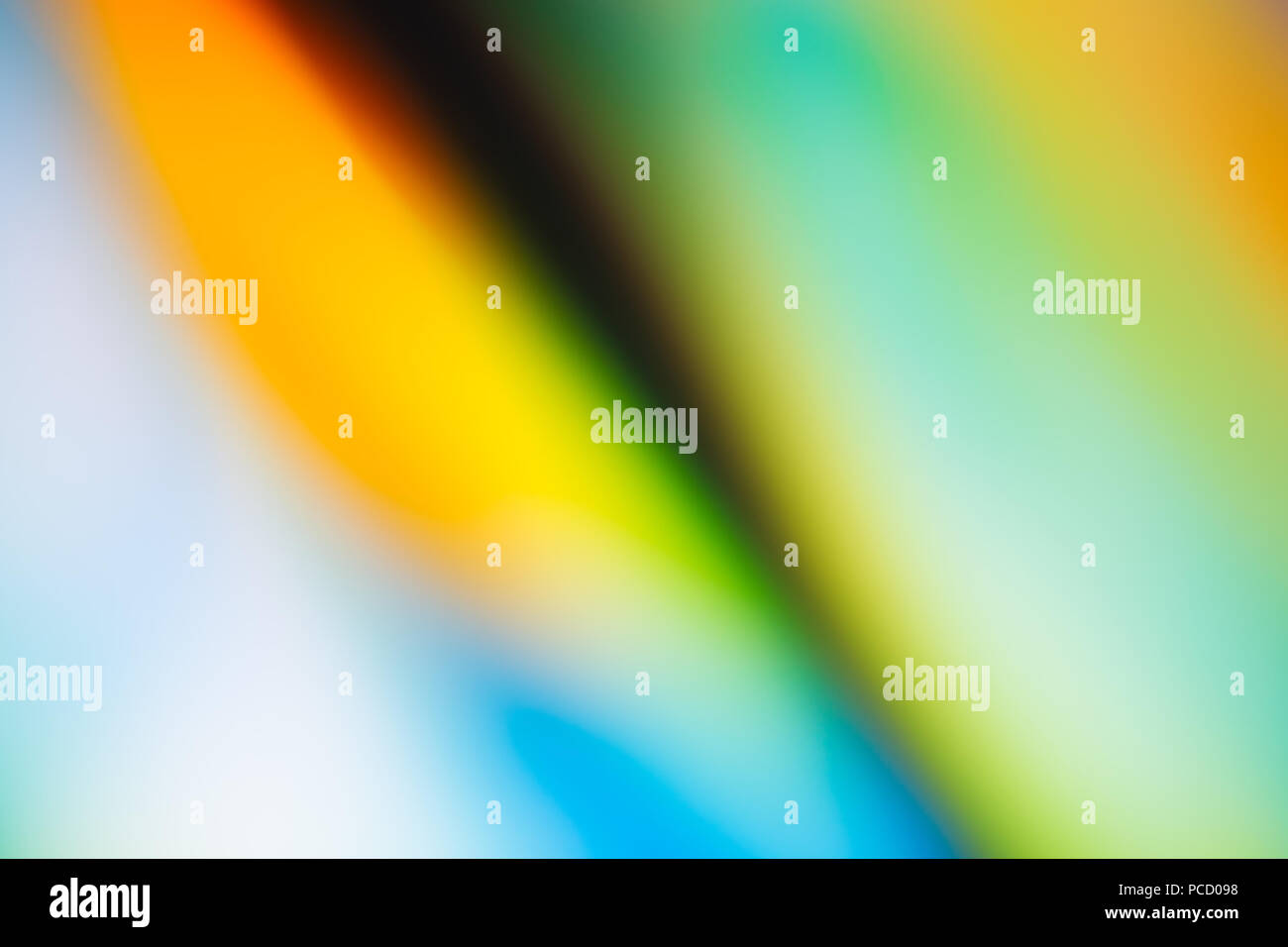 Abstract Blurred Photograph - Stock Image