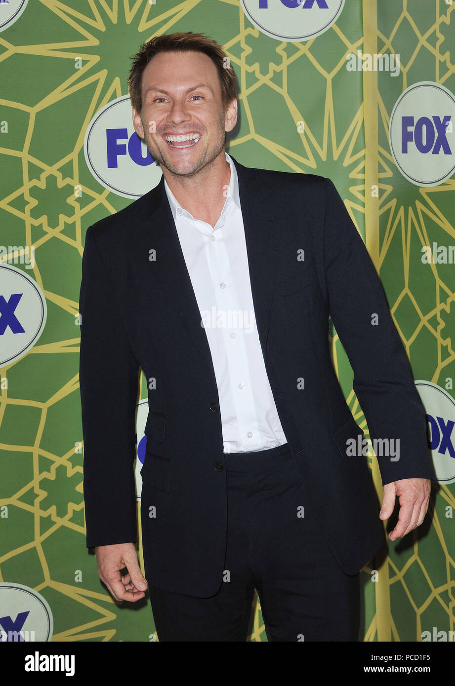 Christian Slater 34 at FOX-tca 2012 at the Green castle in