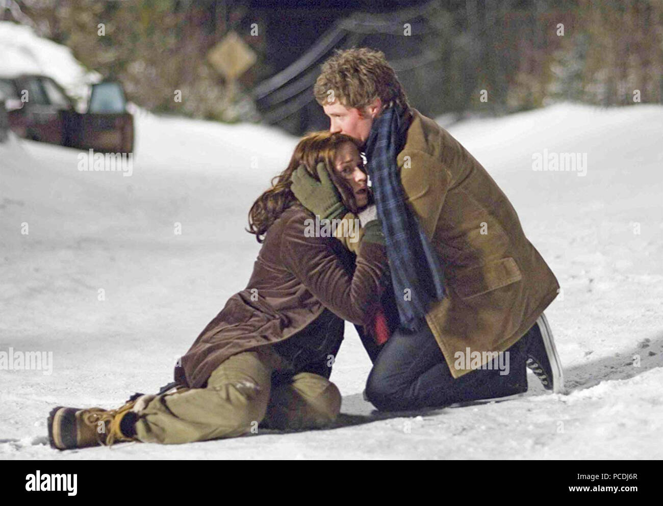 WIND CHILL 2007 TriStar Pictures film with Emily Blunt and Ashton Holmes - Stock Image