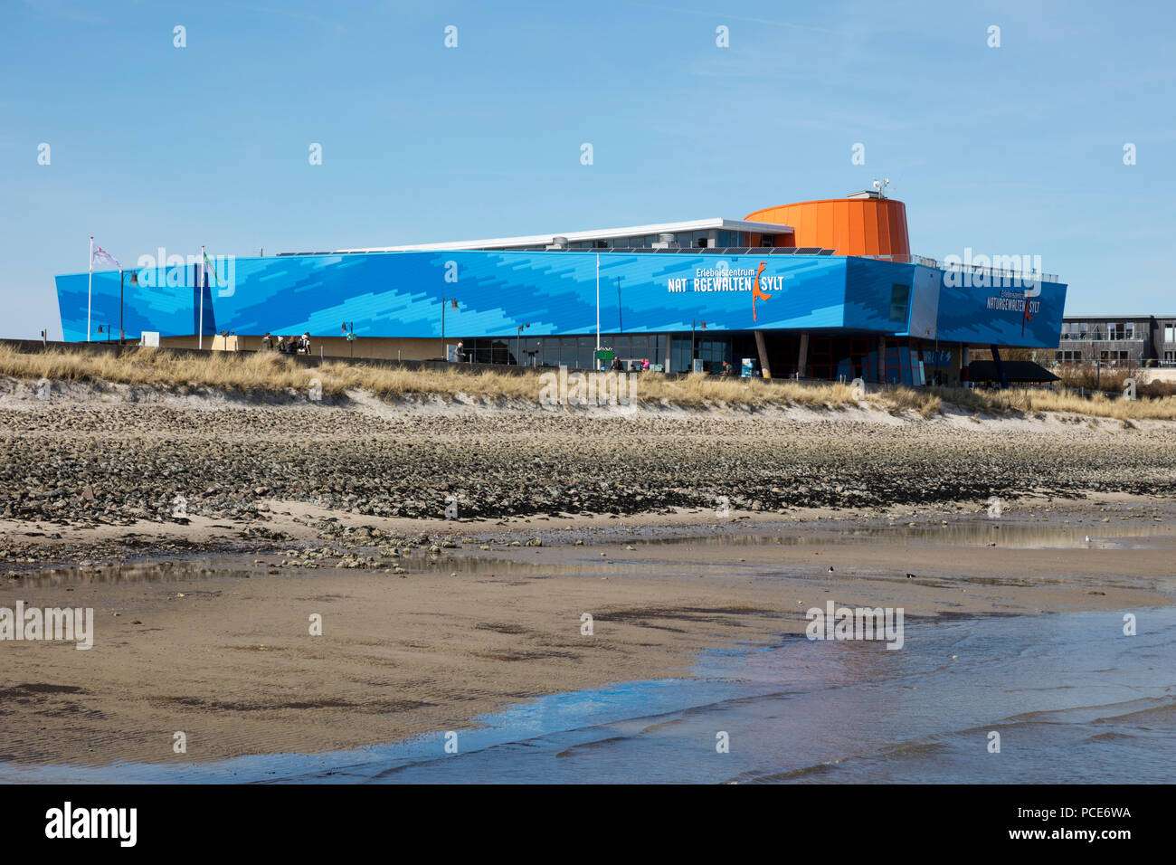 Forces of Nature Center Sylt, List, Sylt, North Frisian Island, North Frisia, Schleswig-Holstein, Germany, Europe - Stock Image
