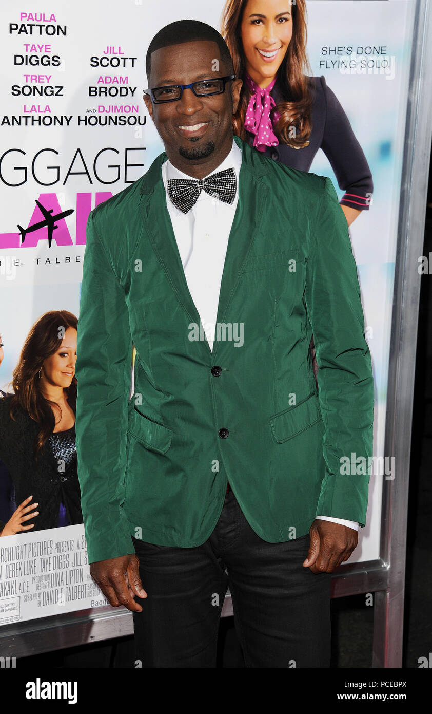 Rickey Smiley arriving at the Baggage Claim Premiere at the