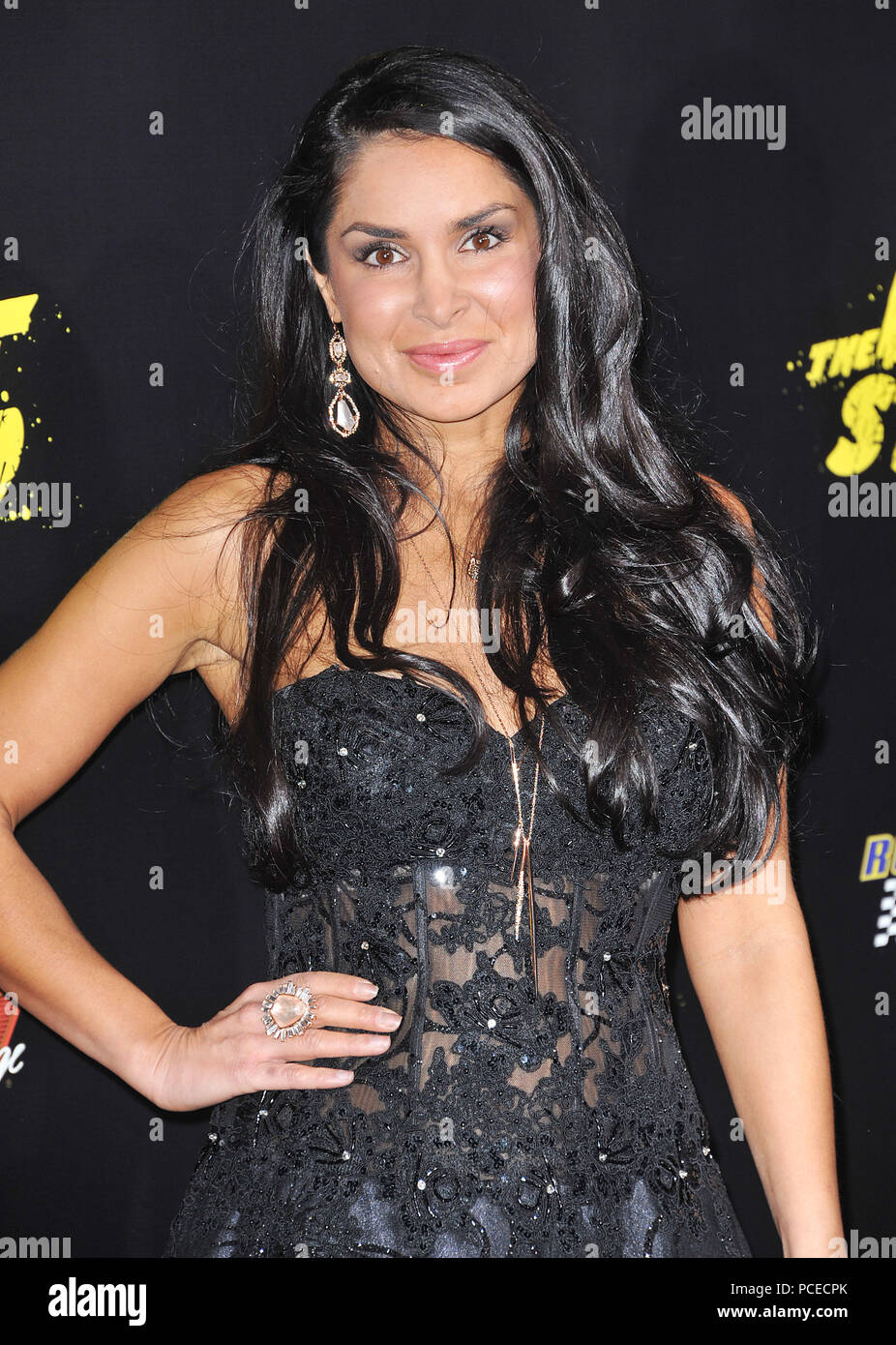 Saye Yabandeh At The Last Stand Premiere At The Chinese Theatre In