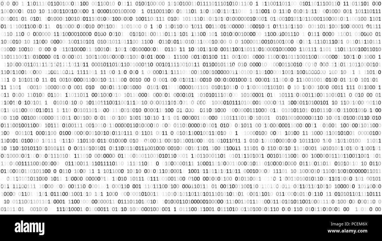 Binary Code Black And White Background With Digits On Screen Format Abstact Circuit Board Stock Images 169