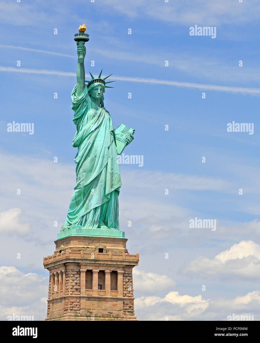 Statue of Liberty, New York City, USA - Stock Image
