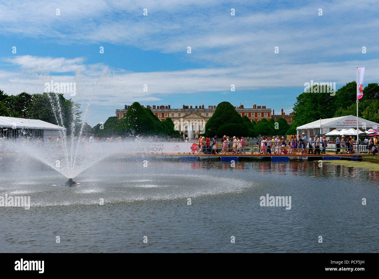 Hampton Court Flower Show, Hampton Court Palace Flower Show, Royal Horticultural Society London, England, Grossbritannien, Europa - Stock Image