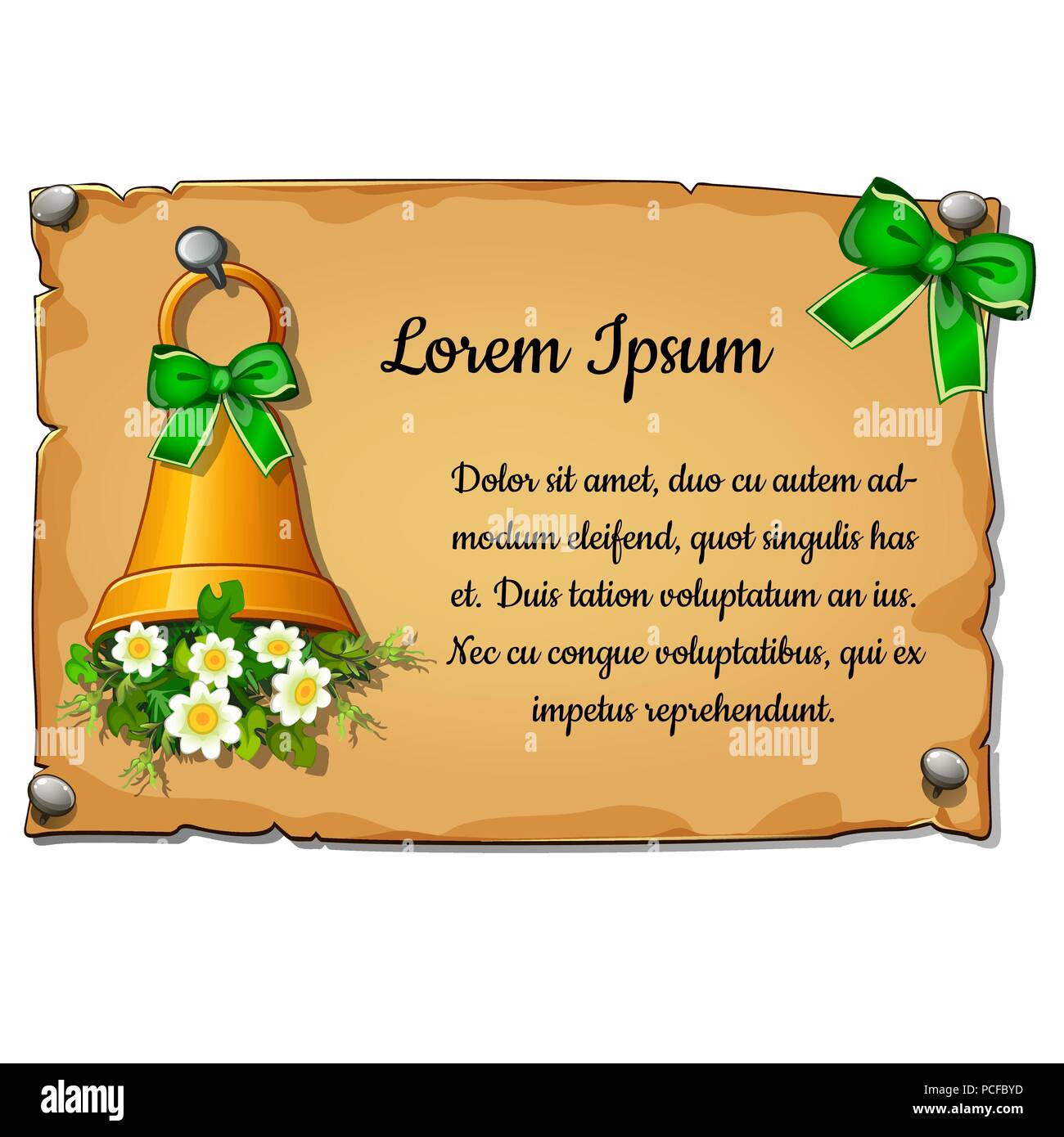 Wall Poster With Christmas Greetings With Space For Your Text