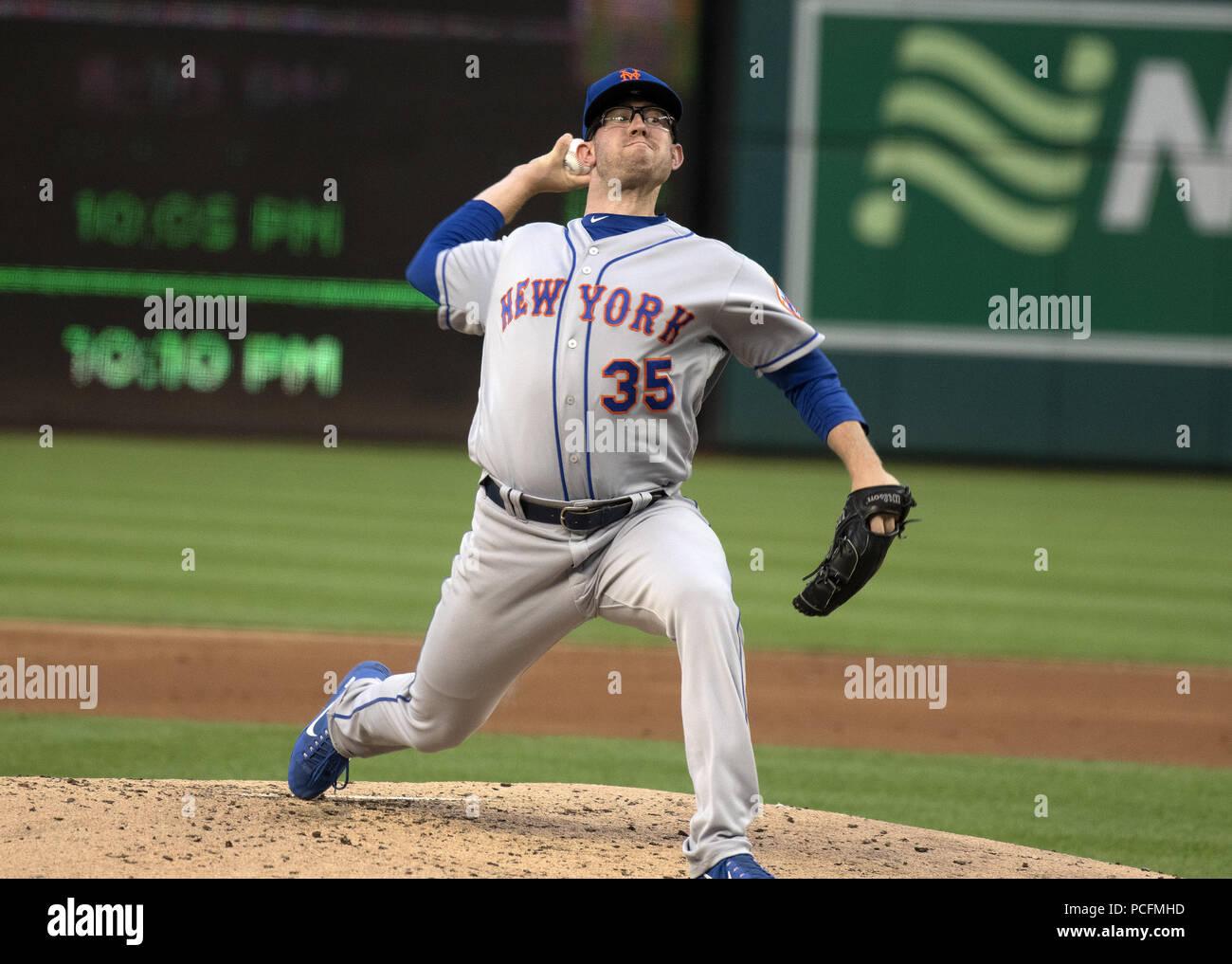 32b3d80fe Washington, District of Columbia, USA. 31st July, 2018. New York Mets