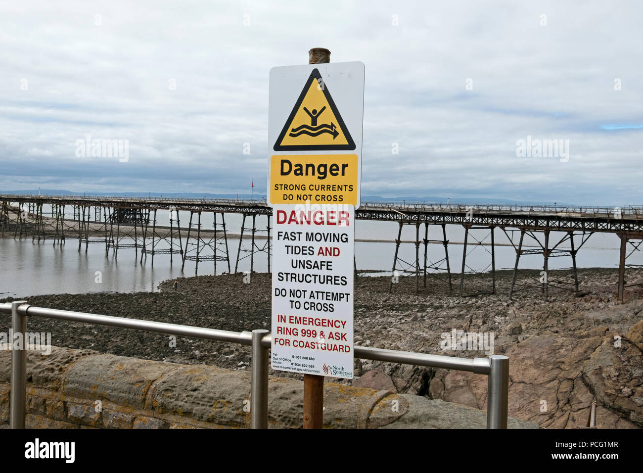 Pier Signs Stock Photos Pier Signs Stock Images Alamy