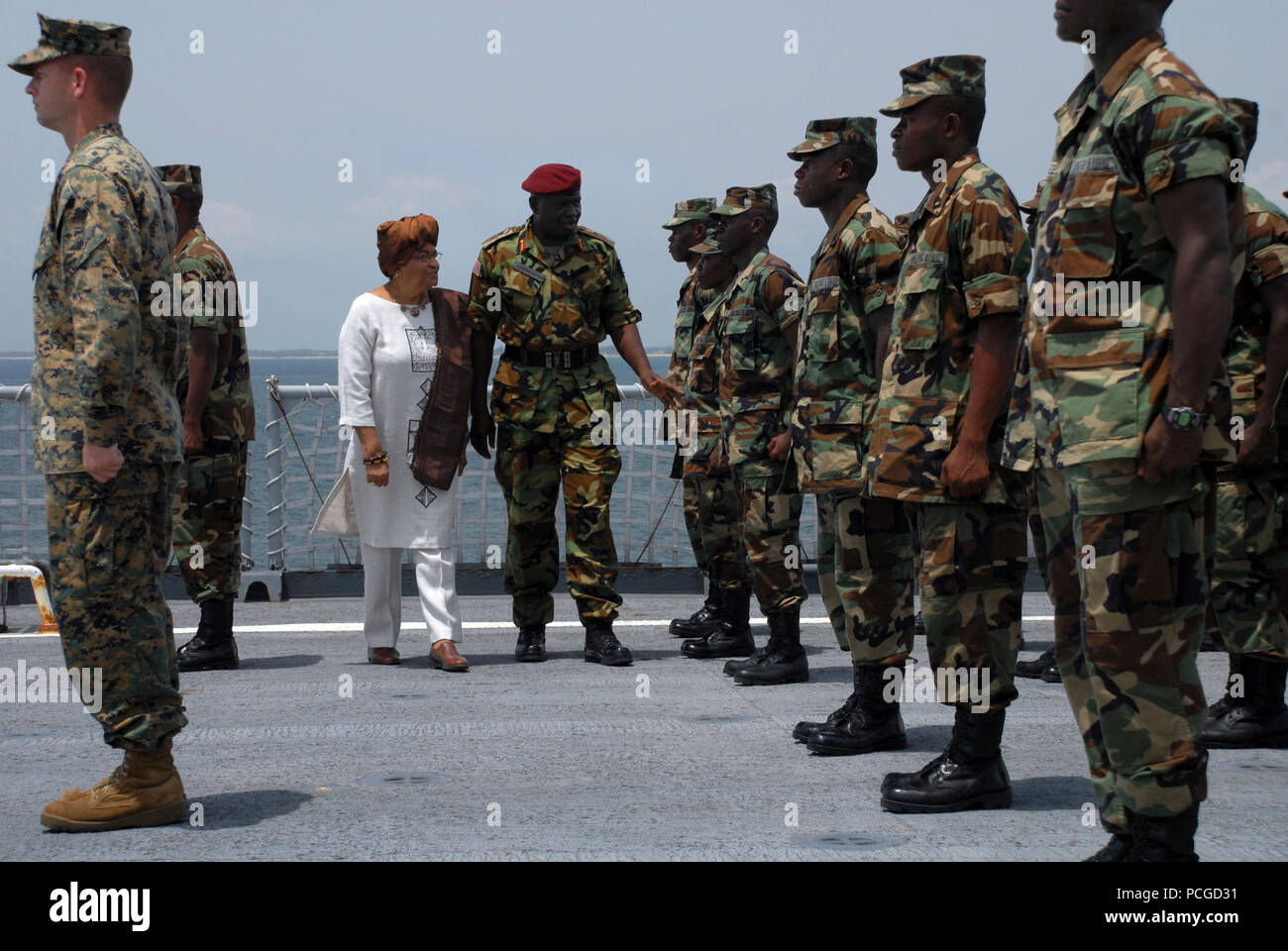 Armed Forces Of Liberia Stock Photos & Armed Forces Of