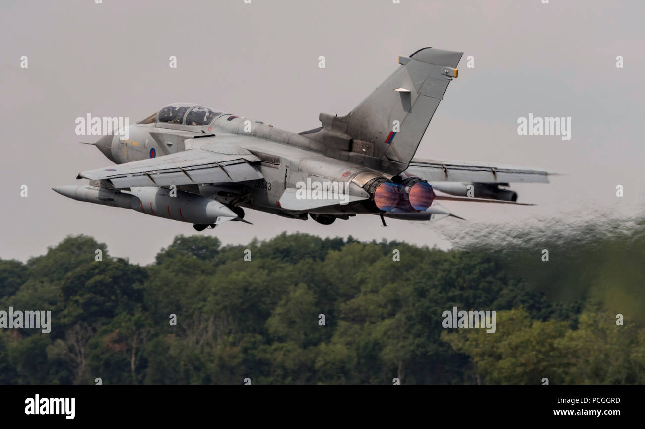 RAF Tornado GR4, Final appearance at RIAT in 2018 - Stock Image