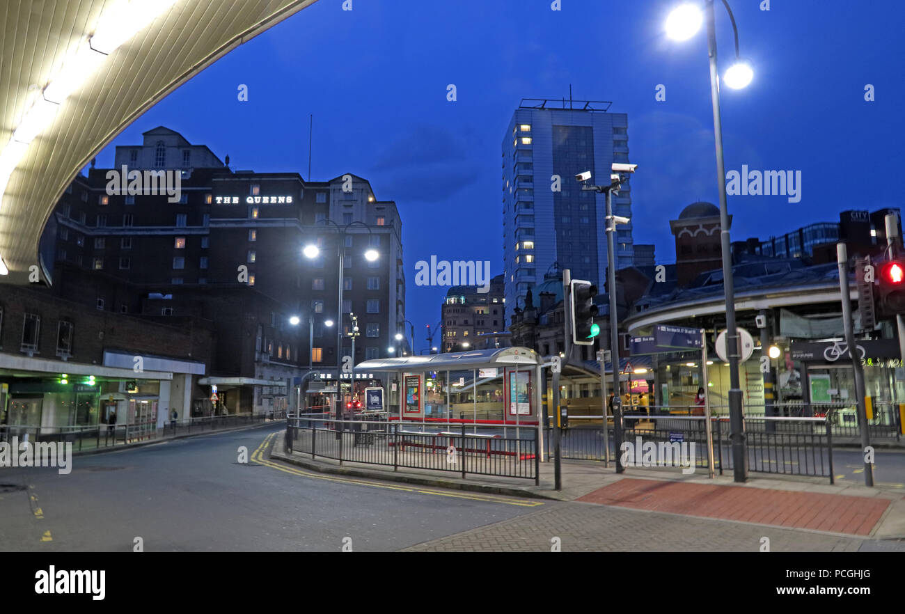 Railway Station, Leeds city centre, West Yorkshire, England, LS1, UK - Stock Image