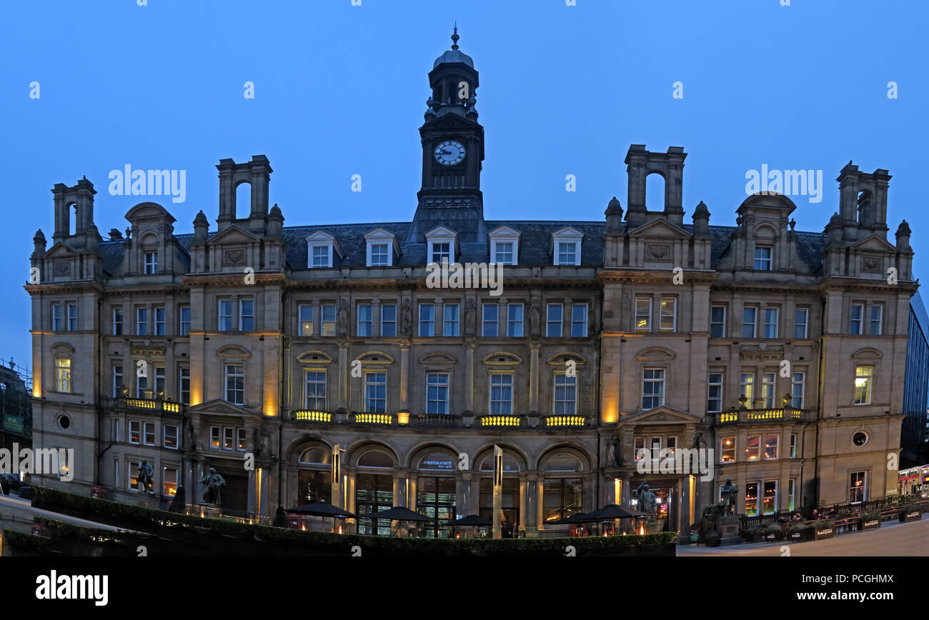 Leeds city centre, West Yorkshire, England, LS1, UK Stock Photo