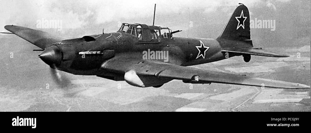 Il2 sturmovik Stock Photo