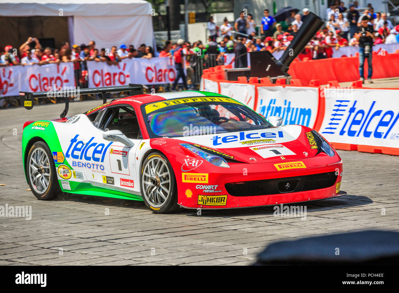 ferrari 458 challenge stock photos ferrari 458 challenge stock images alamy. Black Bedroom Furniture Sets. Home Design Ideas