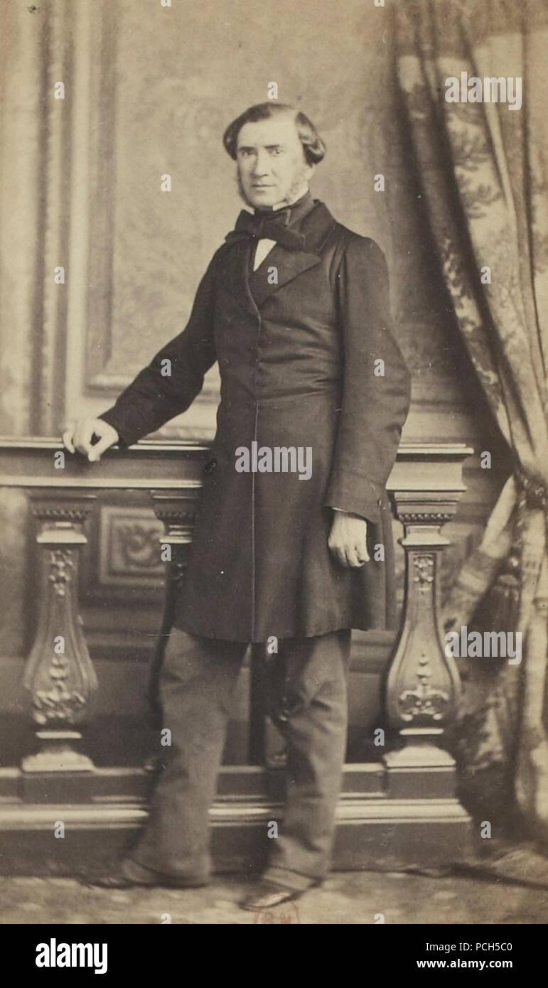 Album des députés au Corps législatif entre 1852-1857-Quesné. - Stock Image