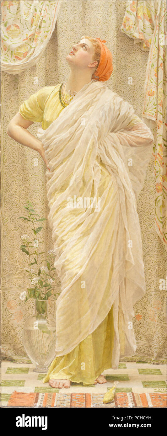 Albert Joseph Moore - Canaries - Stock Photo