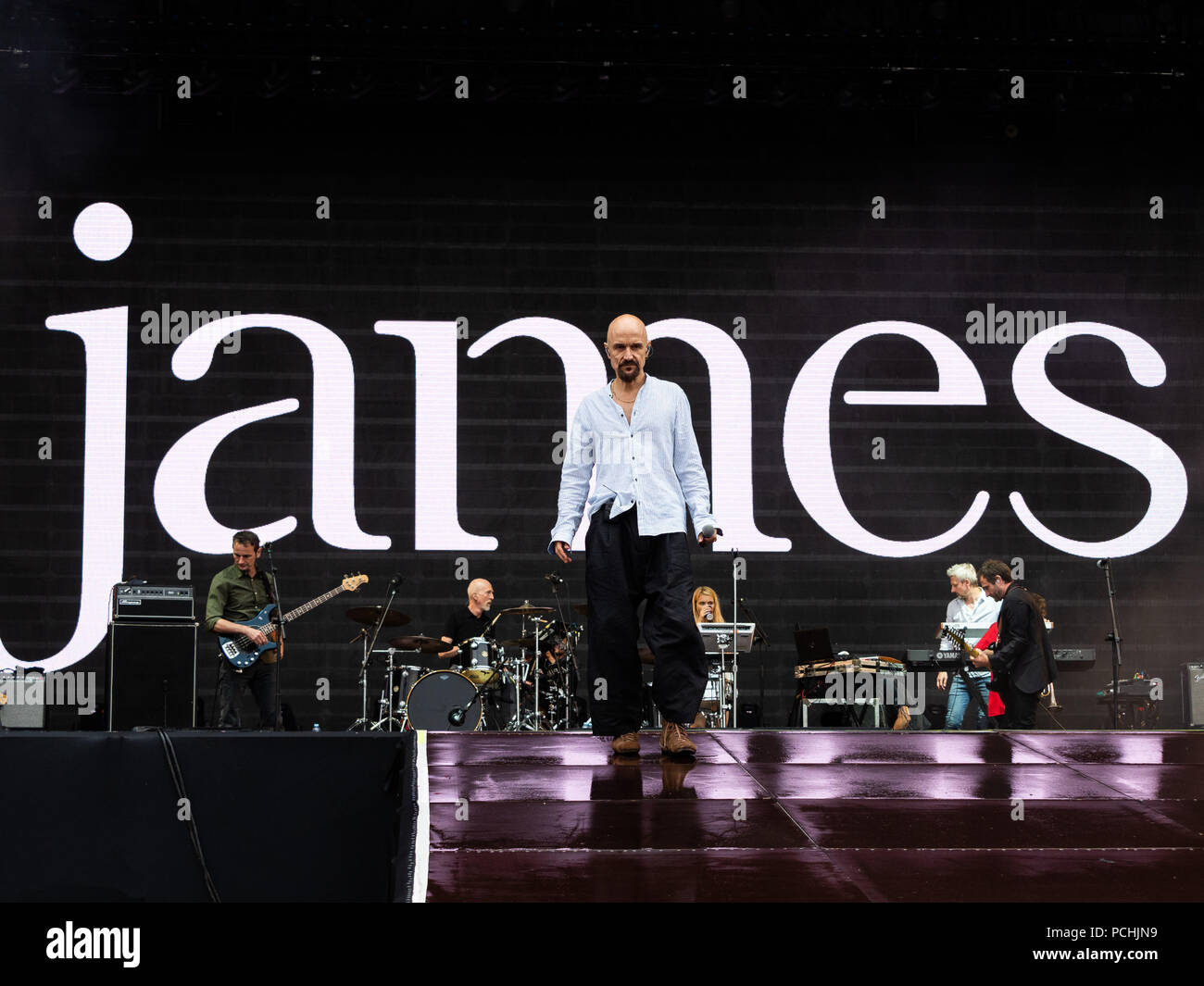James performing live on the 3rd day of rock in rio lisboa 2018 at james performing live on the 3rd day of rock in rio lisboa 2018 at parque da bela vista in lisboa featuring tim booth david baynton power andy diagram ccuart Image collections