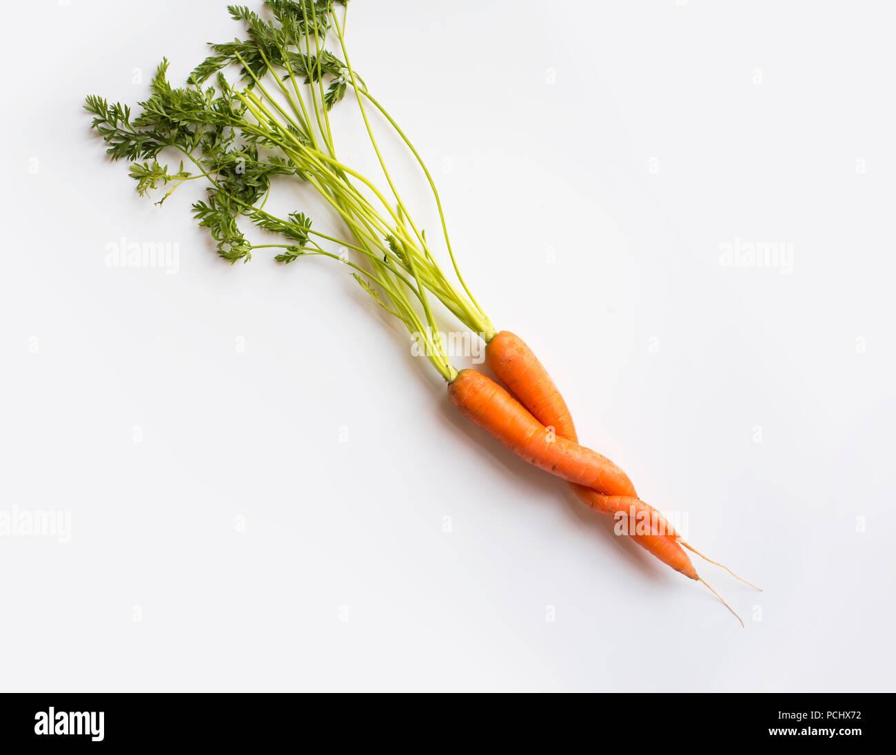 healthy diet,carrots,hug - Stock Image