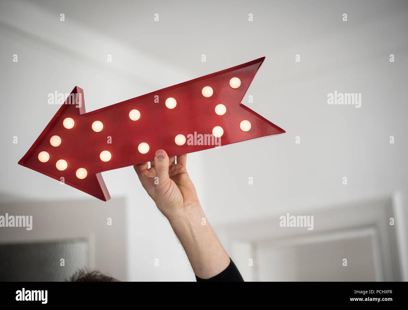 direction,arrow - Stock Image