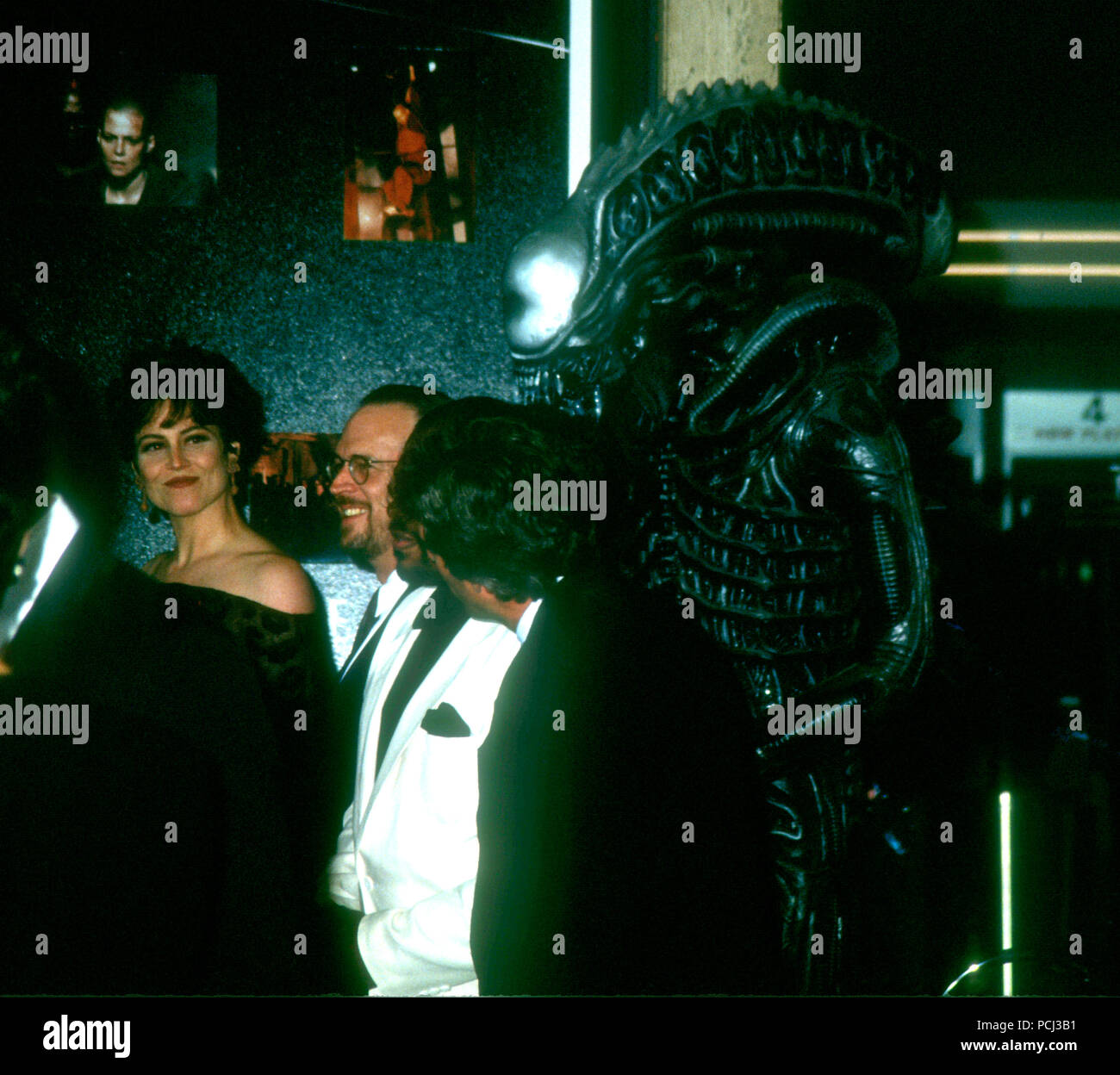 Alien 3 Movie: Sigourney Weaver Alien Stock Photos & Sigourney Weaver