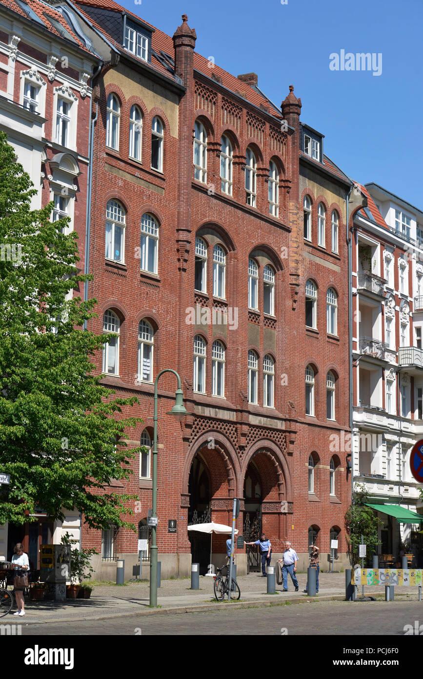 Synagoge, Rykestrasse, Prenzlauer Berg, Pankow, Berlin, Deutschland - Stock Image