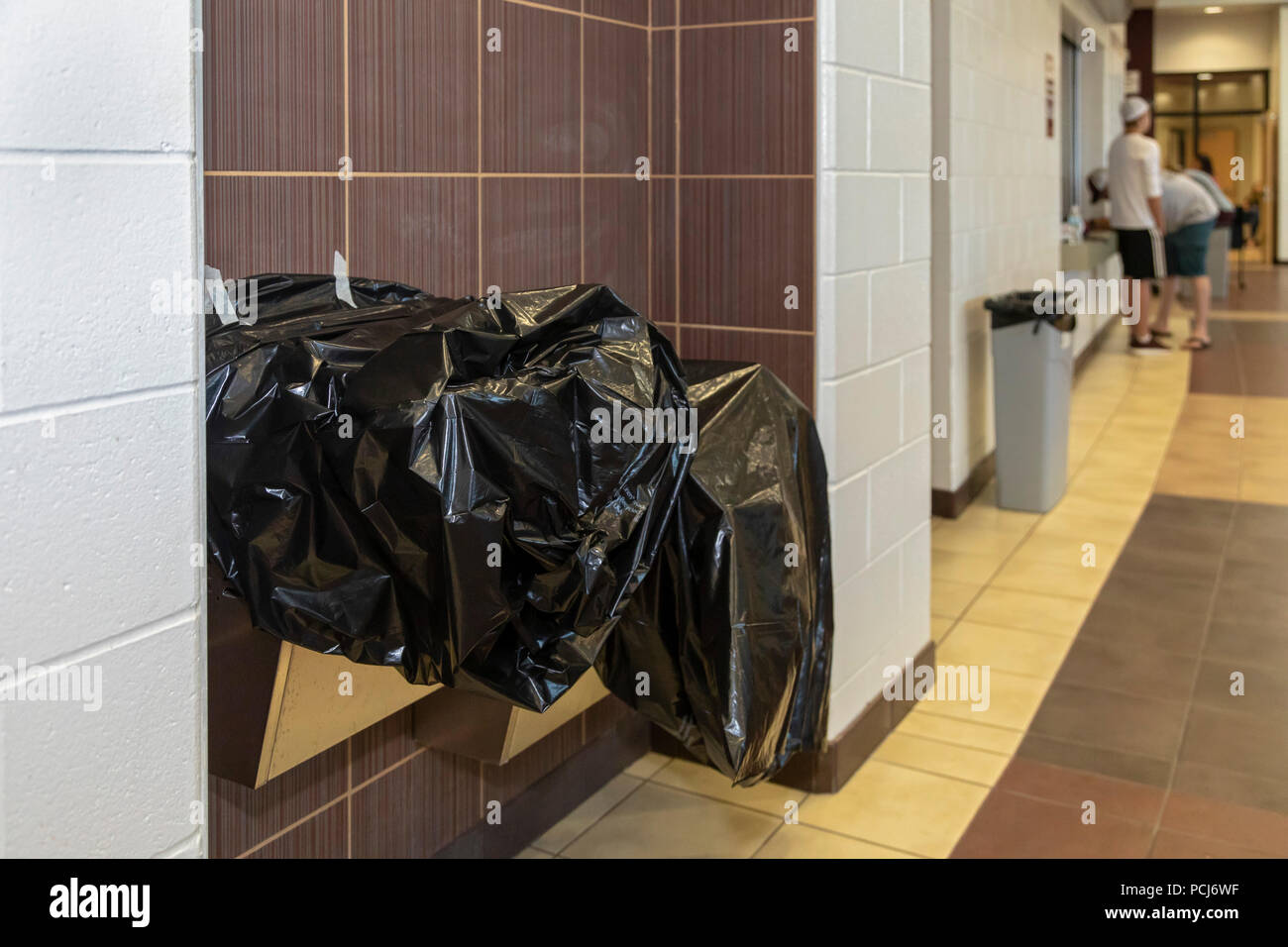Parchment, Michigan – Water fountains at Parchment High