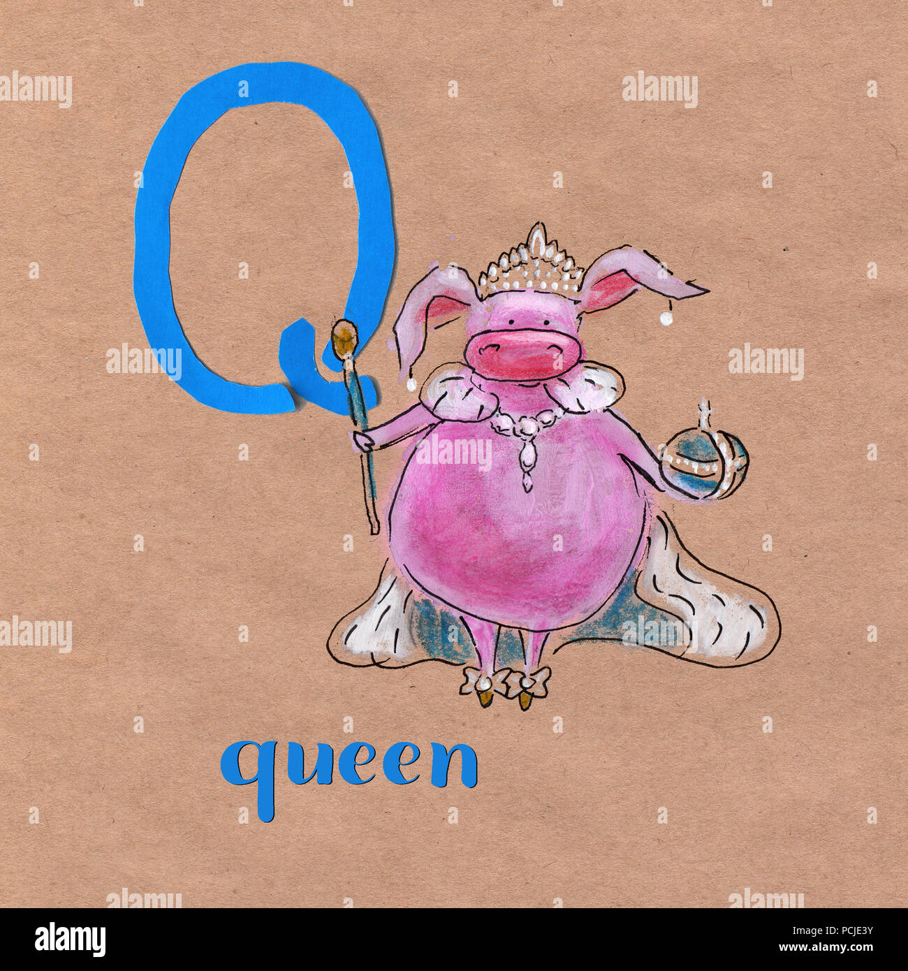 Cartoon Letter Q Stock Photos & Cartoon Letter Q Stock Images - Page ...