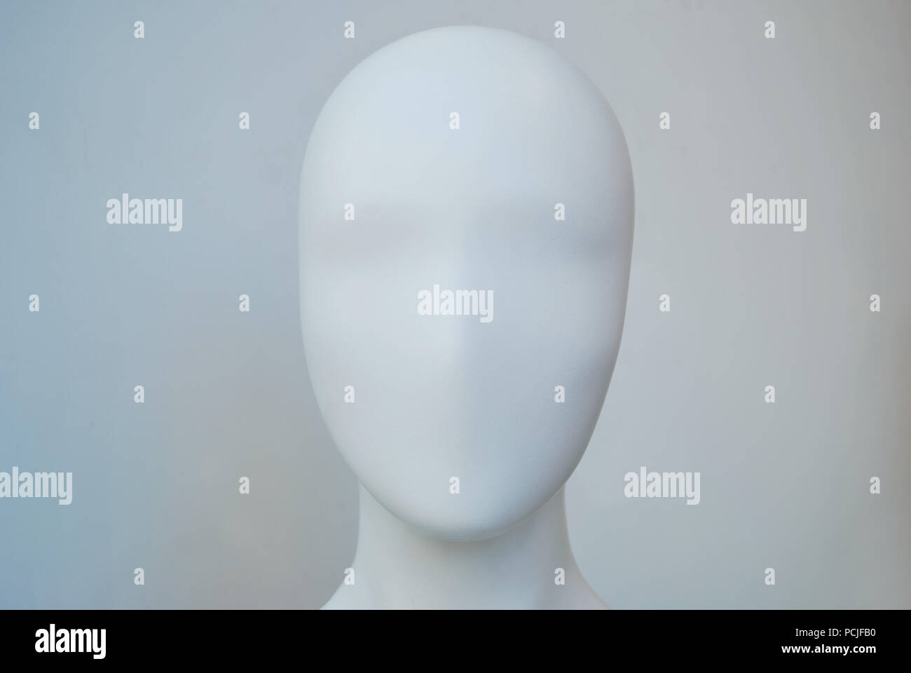 mannequin,head,doll head - Stock Image