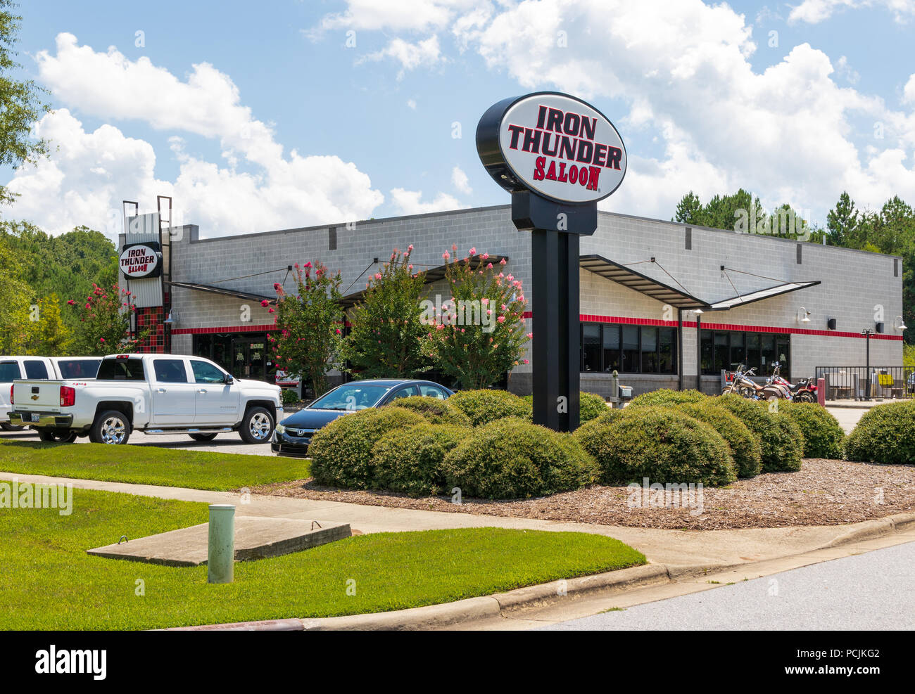 Hickory Nc Usa 26 July 18 This Iron Thunder Saloon Is One Of 4