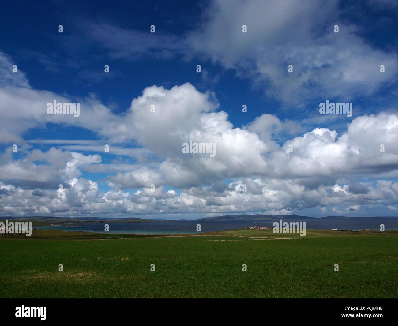 Shapinsay, Orkney - Stock Image