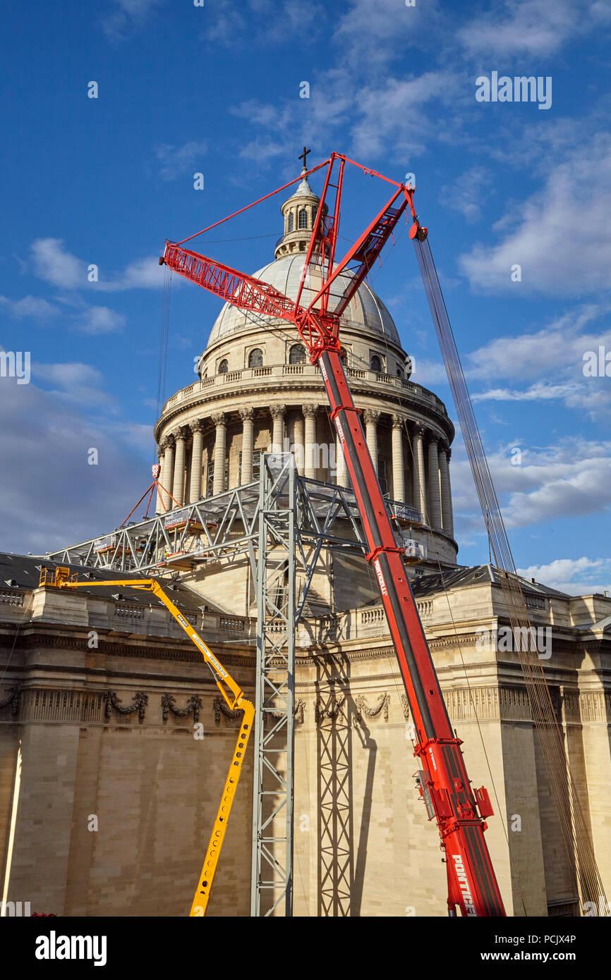 The Panthéon, Paris France - Stock Image