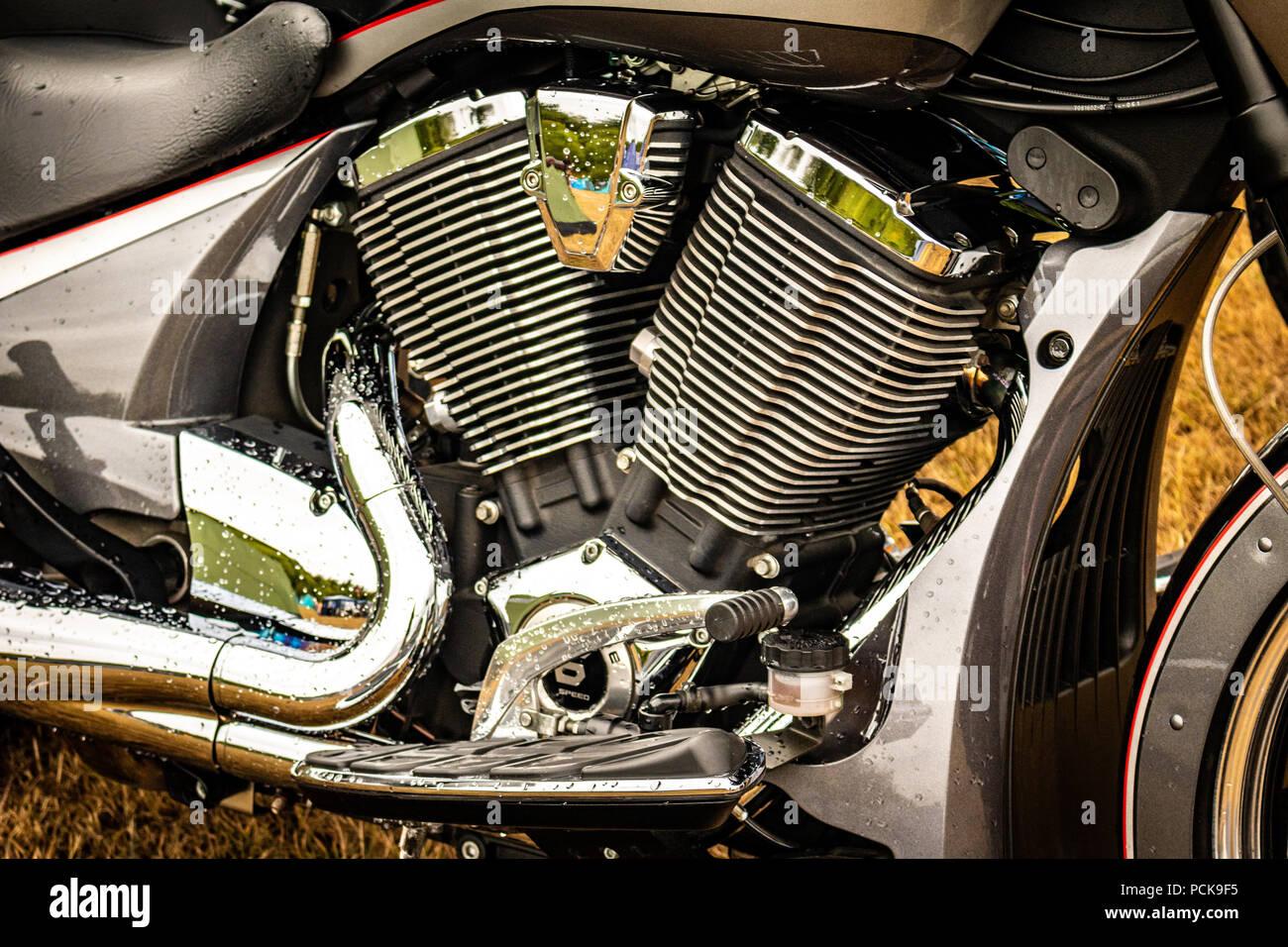 motorcycles Stock Photo