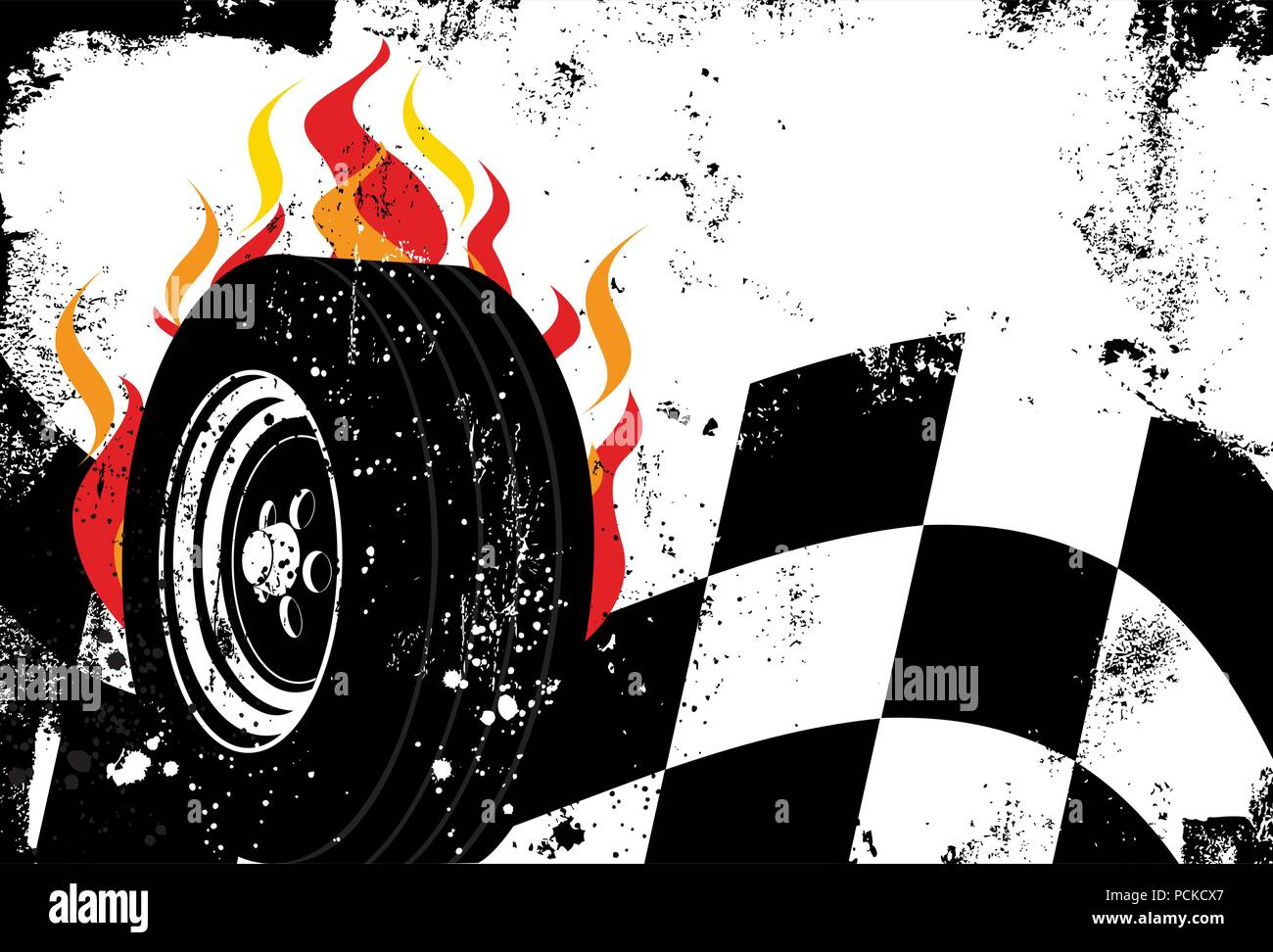 checkered flag vector vectors stock photos checkered flag vector