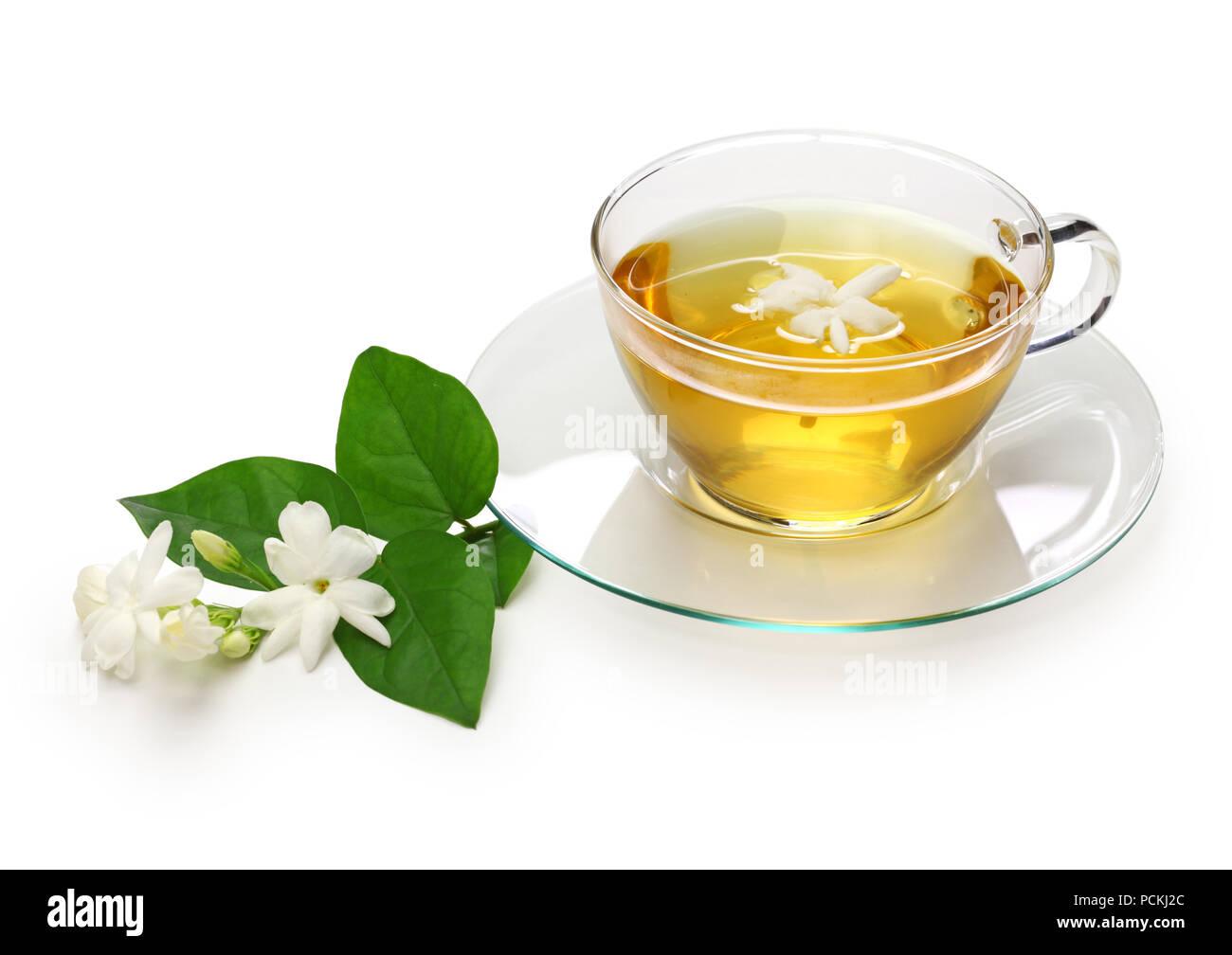 how to make homemade jasmine tea