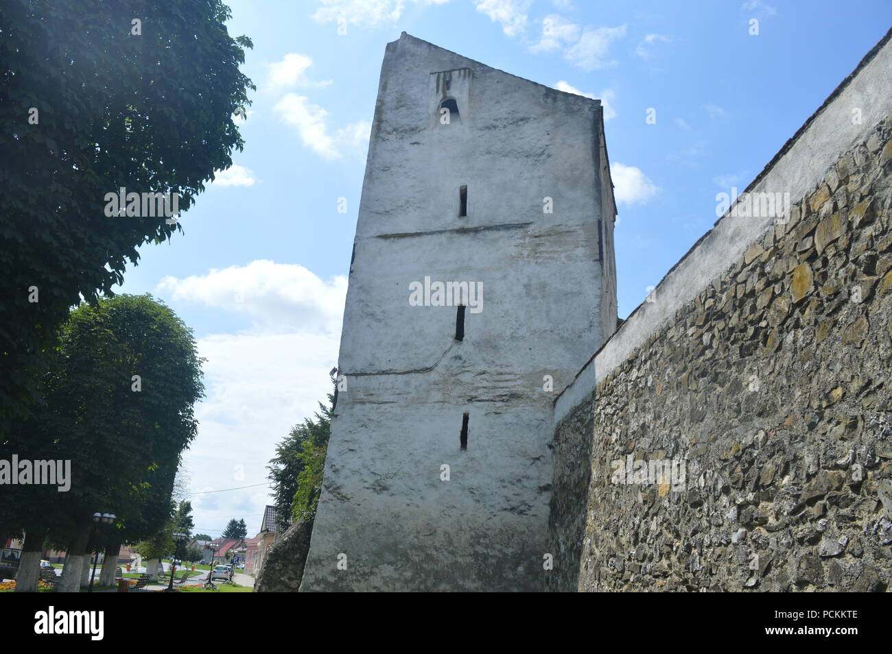 Church fortifications - Stock Image