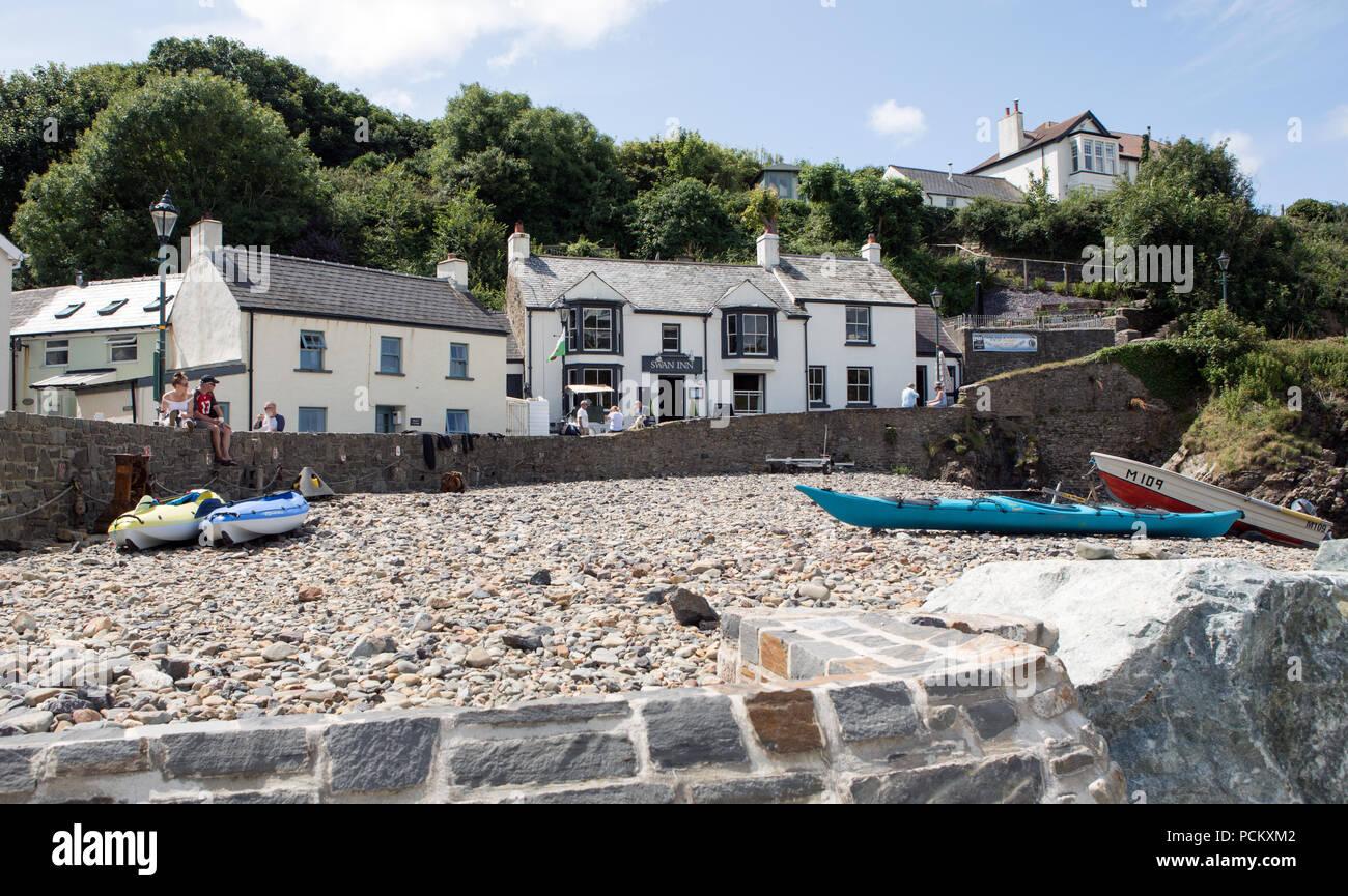 Little Haven Pembrokeshire Wales UK - Stock Image