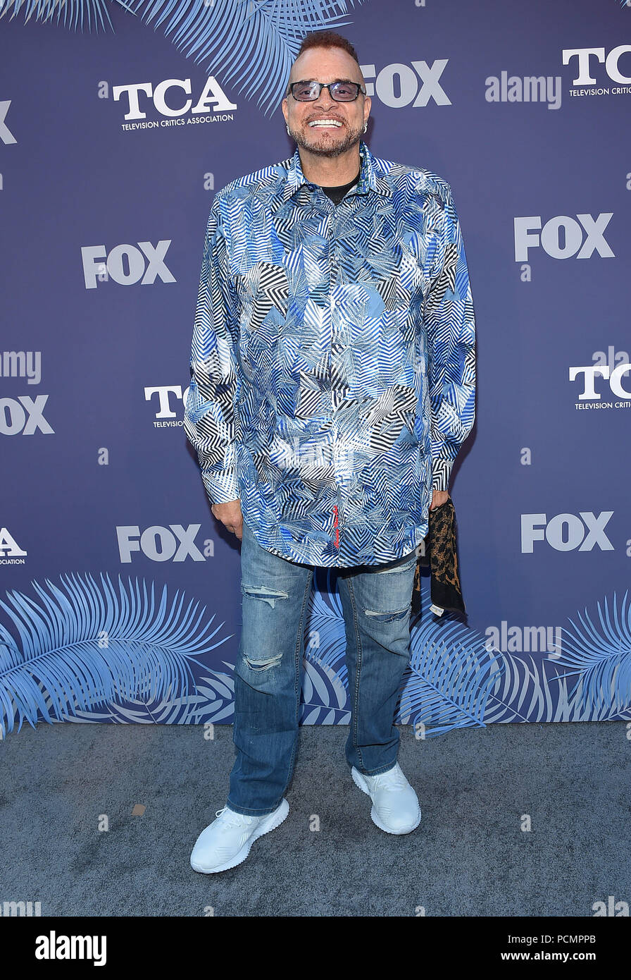 West Hollywood, California, USA. 2nd Aug, 2018. Sinbad arrives for ...