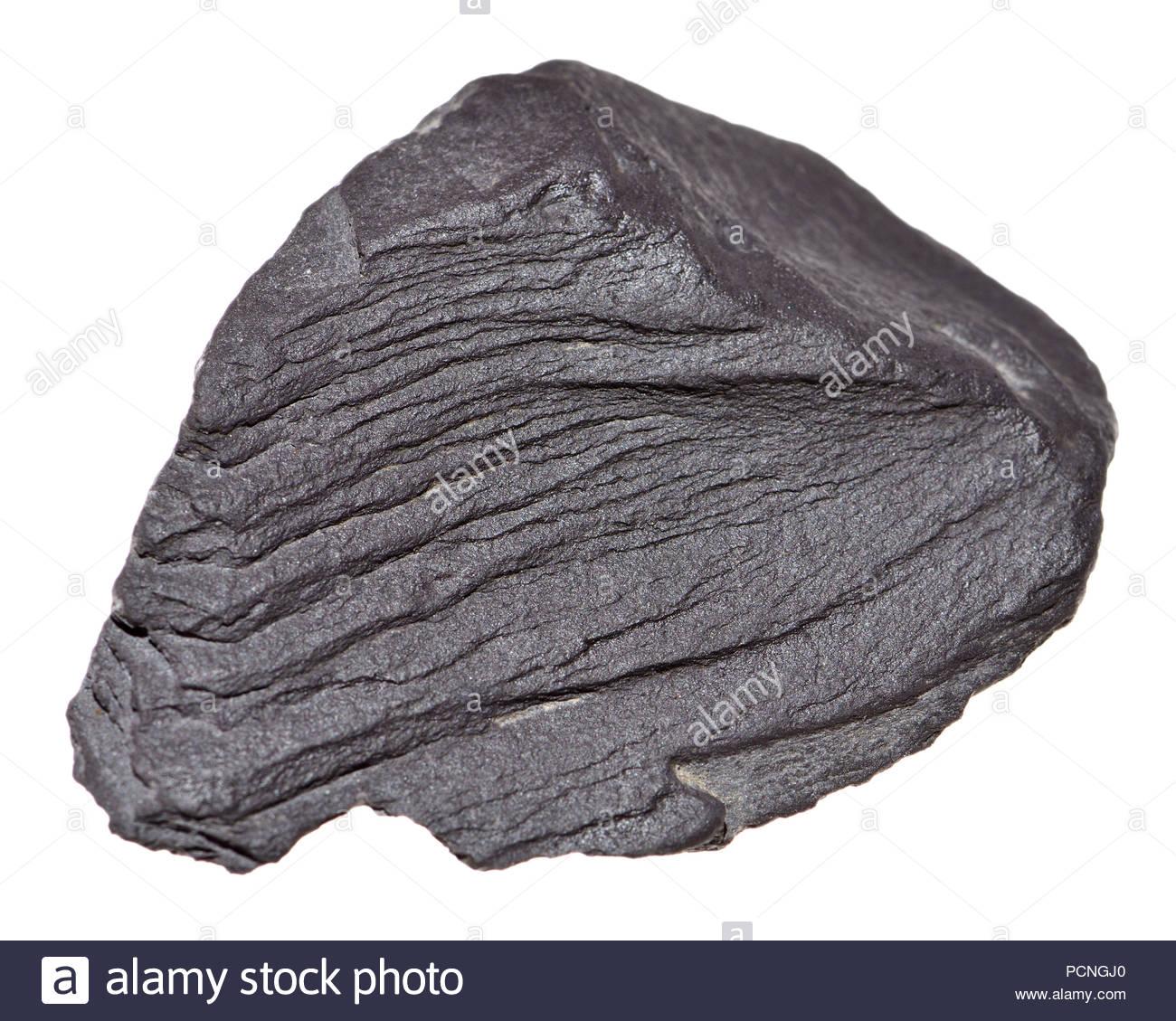 Slate (UK) Metamorphic rock - Stock Image