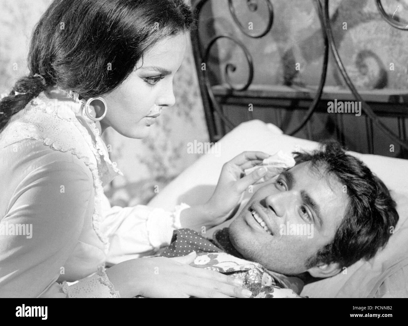 agata fiori, antonio sabato, one dollar too many, 1968 - Stock Image